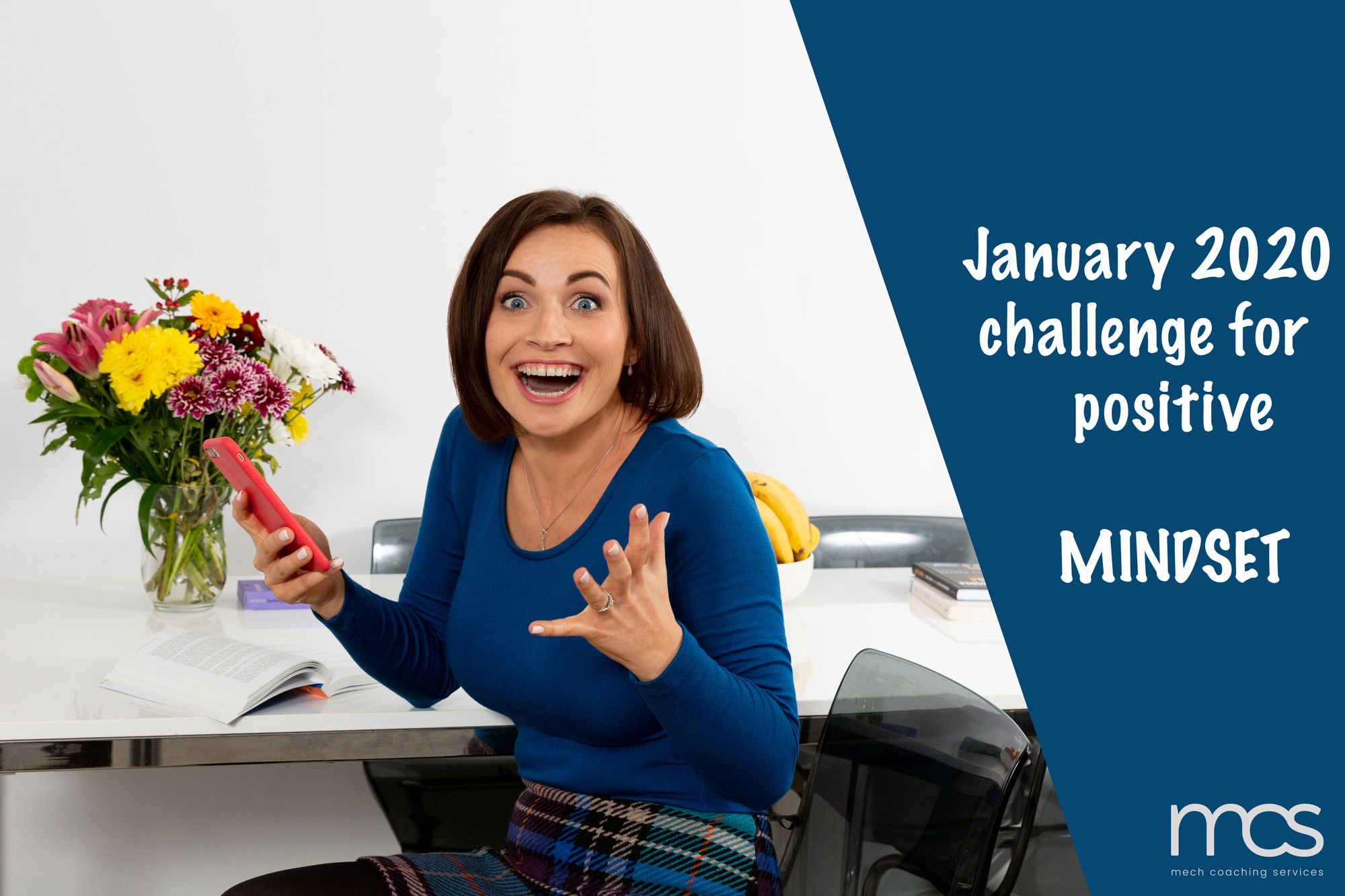 January 2020 challenge for a positive mindset!